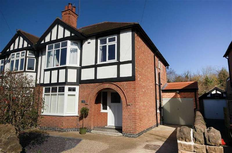 3 Bedrooms Semi Detached House for sale in Selby Road, West Bridgford