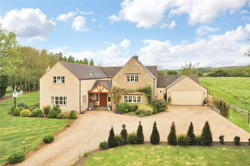 5 Bedrooms Detached House for sale in Cawthorpe, Bourne