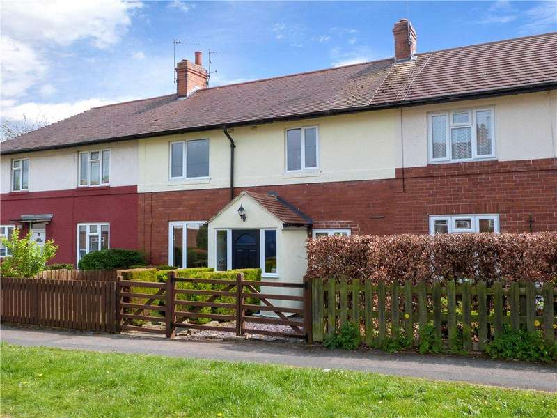 3 Bedrooms Terraced House for sale in Stockwell Drive, Knaresborough, North Yorkshire