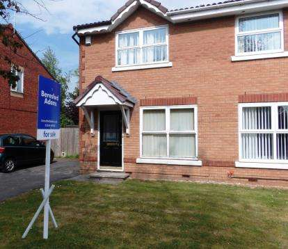 2 Bedrooms Semi Detached House for sale in Woodall Avenue, Saltney, Chester, Flintshire, CH4