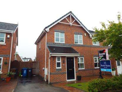 3 Bedrooms Semi Detached House for sale in Kirkwood Close, Aspull, Wigan, Greater Manchester, WN2