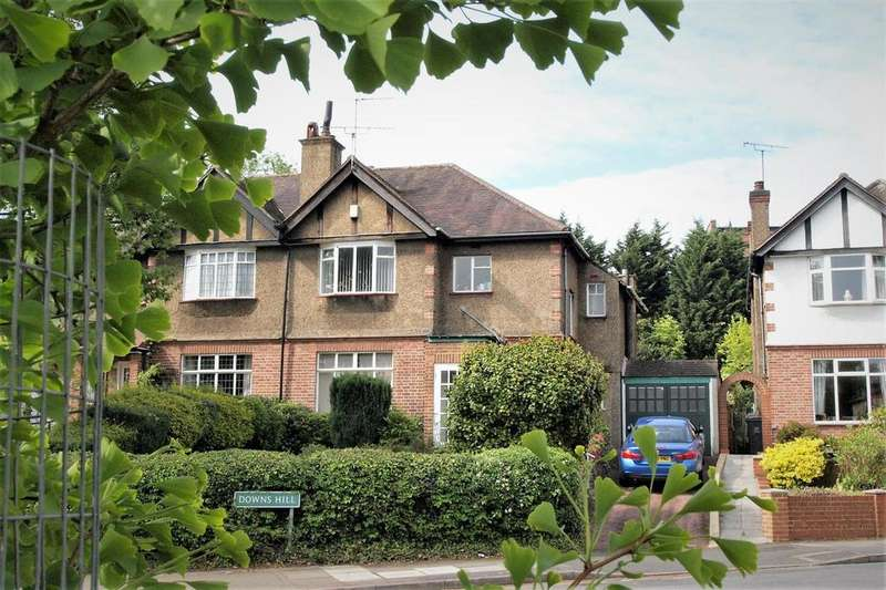 3 Bedrooms Semi Detached House for sale in Downs Hill, Beckenham