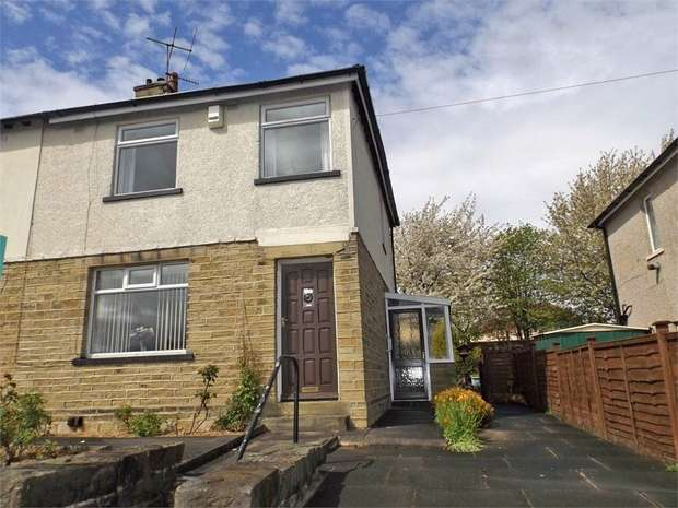 3 Bedrooms Semi Detached House for sale in Ashbourne Road, Keighley, West Yorkshire