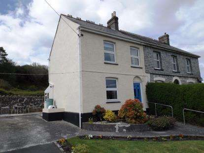 3 Bedrooms Semi Detached House for sale in Stenalees, St. Austell, Cornwall