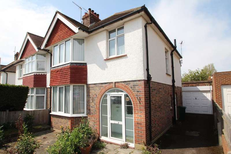 3 Bedrooms Semi Detached House for sale in Roman Road, Hove, East Sussex, BN3 4LA
