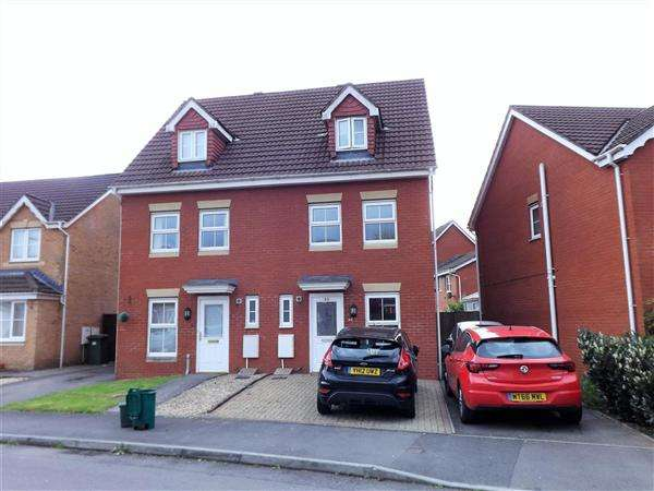 3 Bedrooms Semi Detached House for sale in Clos Springfield, Pontyclun