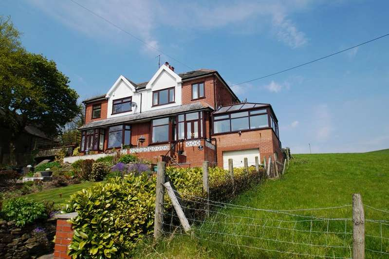 3 Bedrooms Semi Detached House for sale in Huddersfield Rd, Denshaw OL3