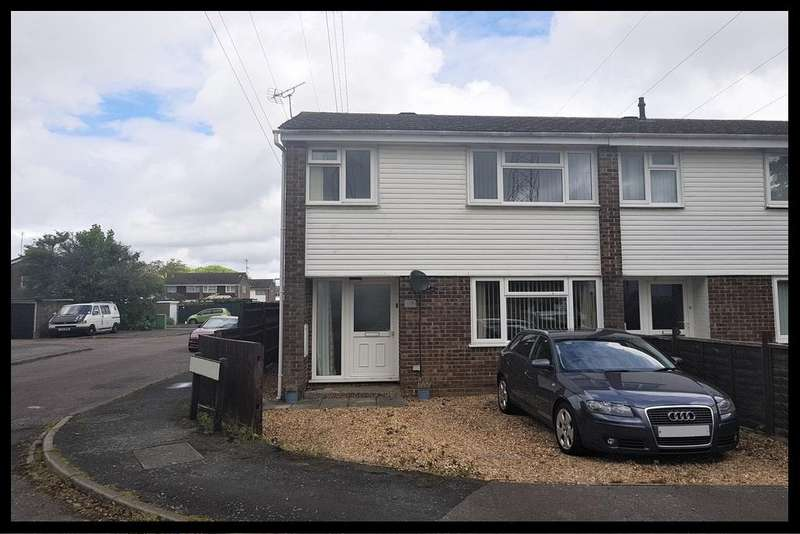 3 Bedrooms End Of Terrace House for sale in Embley Close, Calmore, Totton, Southampton SO40