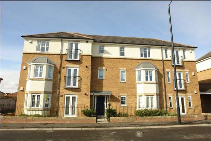 2 Bedrooms Apartment Flat for sale in Rosebury Drive, Newcastle Upon Tyne