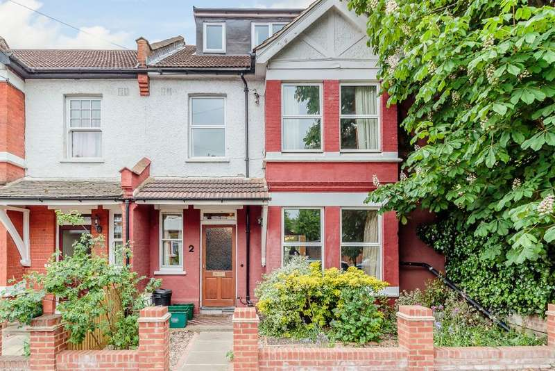 4 Bedrooms Terraced House for sale in Stanton Road, London, SW20 8RL
