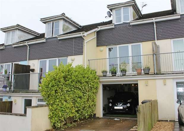 2 Bedrooms Terraced House for sale in Lord Nelson Drive, Dartmouth, Devon