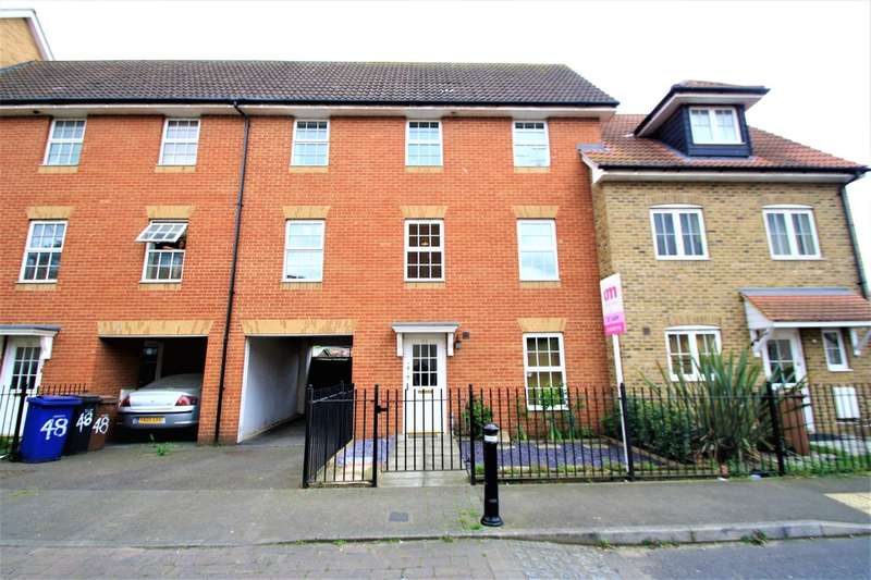 4 Bedrooms Town House for sale in Caspian Close, Purfleet
