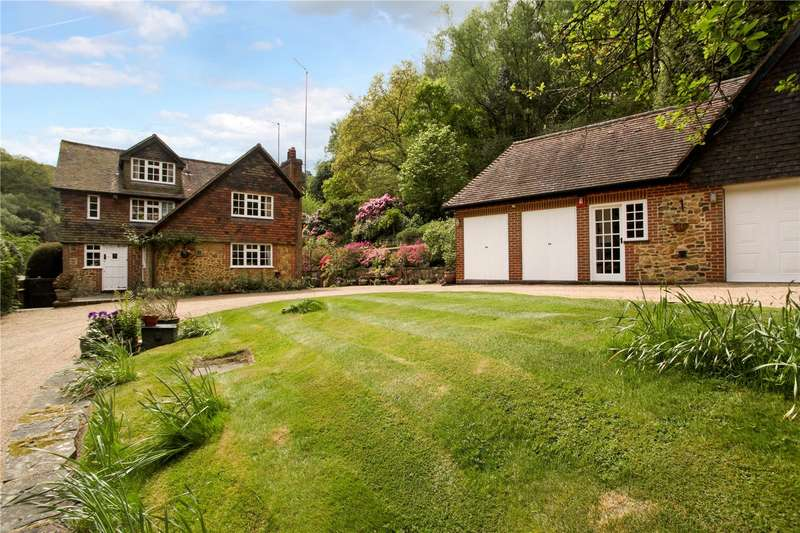 5 Bedrooms Detached House for sale in Abinger Bottom, Abinger Common, Dorking, Surrey, RH5