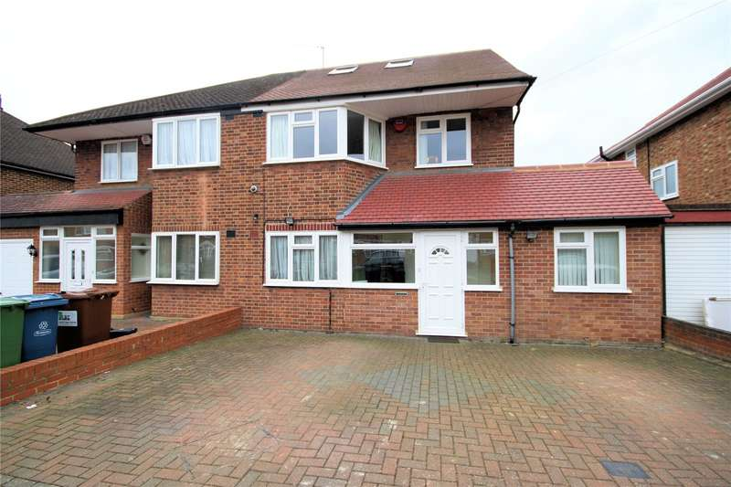 4 Bedrooms Semi Detached House for sale in Merrion Avenue, Stanmore, HA7