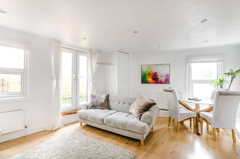 2 Bedrooms Flat for sale in Balham High Road, Balham, SW12