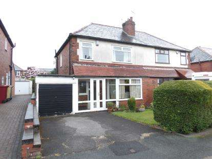 3 Bedrooms Semi Detached House for sale in Westland Avenue, Heaton, Bolton, Greater Manchester, BL1