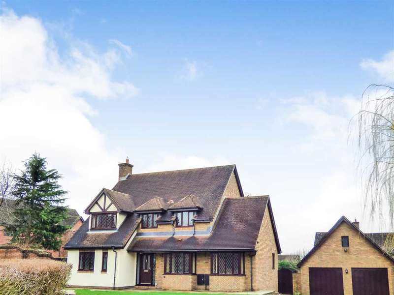 4 Bedrooms Detached House for sale in Badgers Meadow, Pwllmeyric, Chepstow