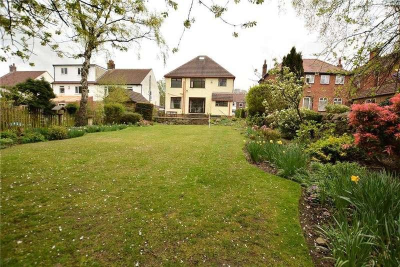 4 Bedrooms Detached House for sale in Moseley Wood Lane, Cookridge, Leeds, West Yorkshire