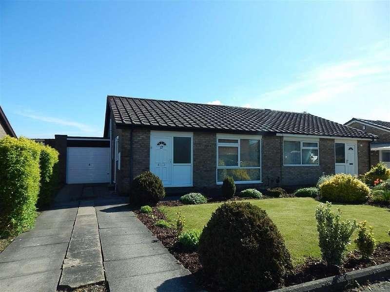 2 Bedrooms Semi Detached Bungalow for sale in Alder Road, Hadrian Park, Wallsend, NE28