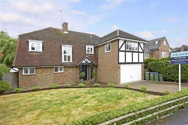 5 Bedrooms Detached House for sale in Charlwood Drive, Oxshott, Surrey, KT22
