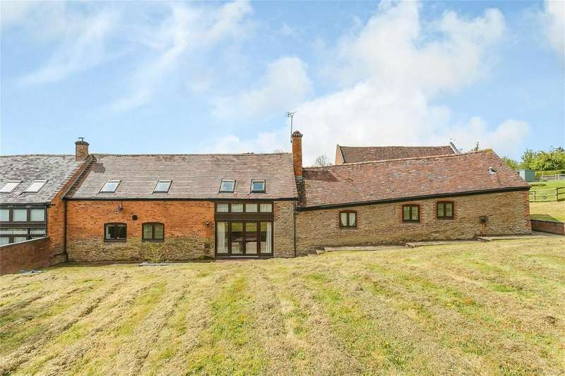 3 Bedrooms Barn Conversion Character Property for sale in Lower Bransley, Cleobury Mortimer, Kidderminster, Shropshire
