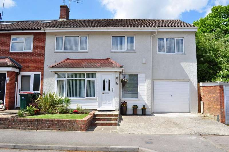 4 Bedrooms End Of Terrace House for sale in Patching Close, Ifield