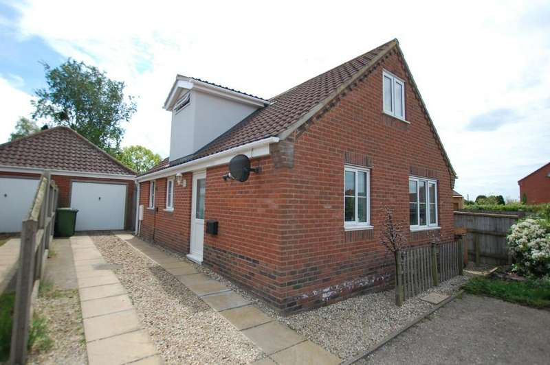 3 Bedrooms Detached Bungalow for sale in Birch Court, Erpingham
