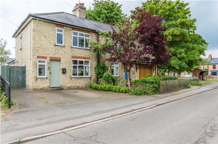 3 Bedrooms Semi Detached House for sale in High Street, Hauxton, Cambridge