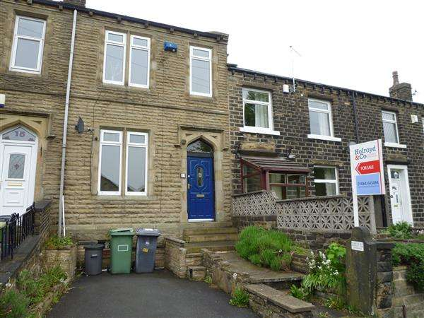 2 Bedrooms Terraced House for sale in Burfitts Road, Oakes, Huddersfield