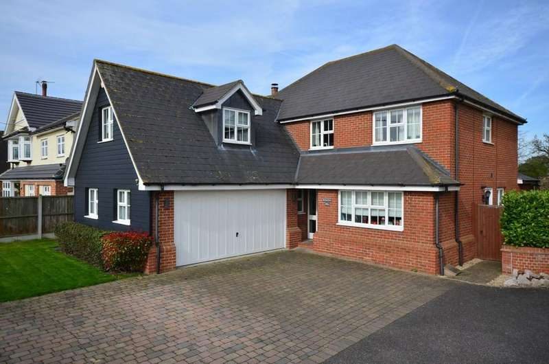 5 Bedrooms Detached House for sale in Maldon Road, Tiptree