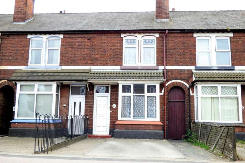 2 Bedrooms Terraced House for sale in Shobnall Road, Burton-on-Trent