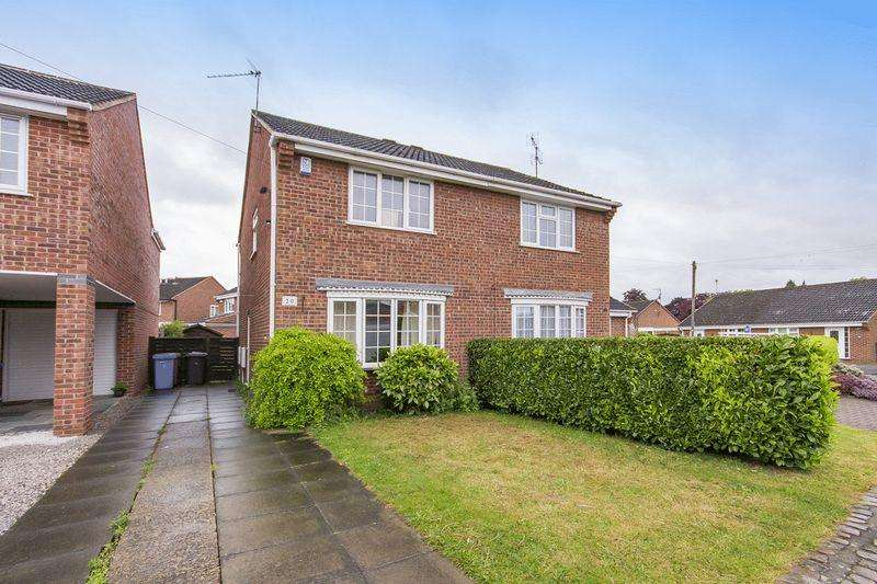 2 Bedrooms Semi Detached House for sale in LOCKINGTON CLOSE, CHELLASTON