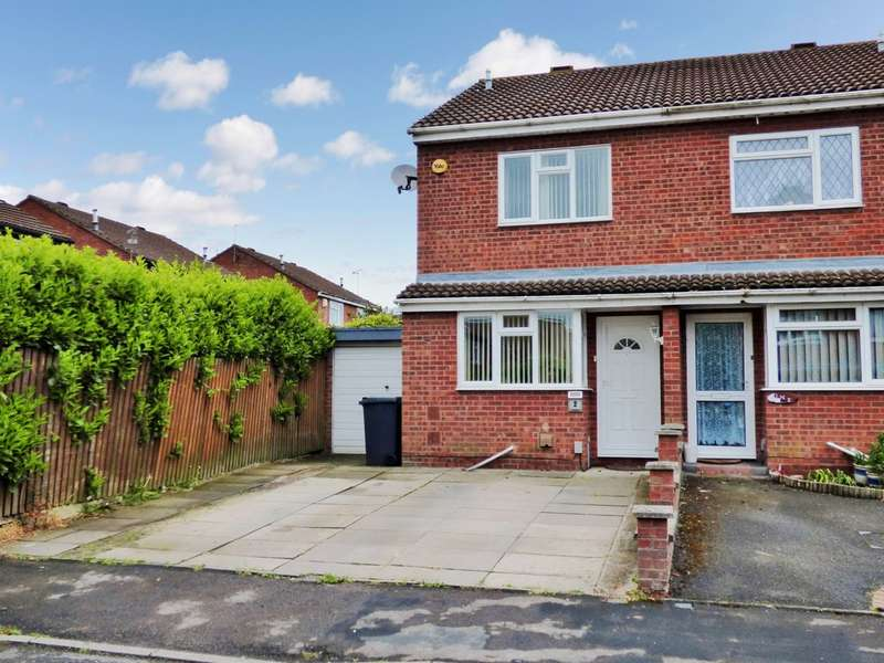 2 Bedrooms Semi Detached House for sale in Swain Crofts, Leamington Spa