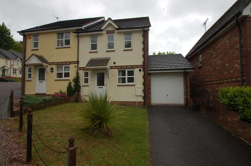 3 Bedrooms Semi Detached House for sale in Curlew Close, Torquay