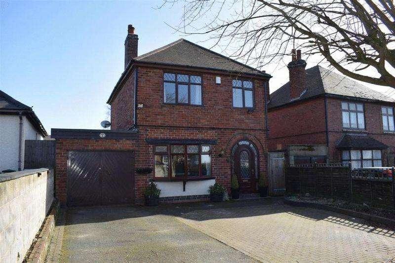 3 Bedrooms Detached House for sale in Swadlincote Lane, Castle Gresley
