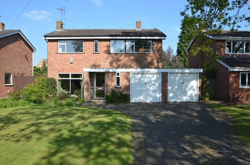 4 Bedrooms Detached House for sale in Alwyn Road, Bilton, Rugby