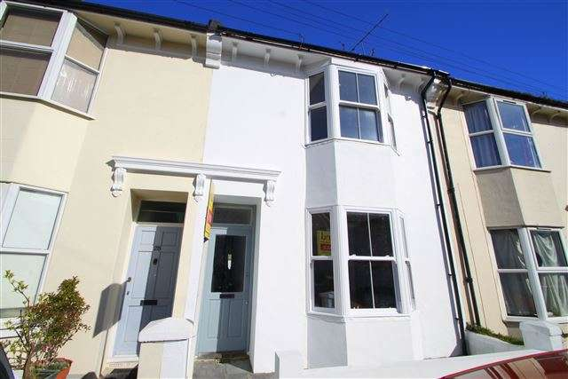 4 Bedrooms Terraced House for sale in Winchester Street, Brighton, East Sussex, BN1 4NX