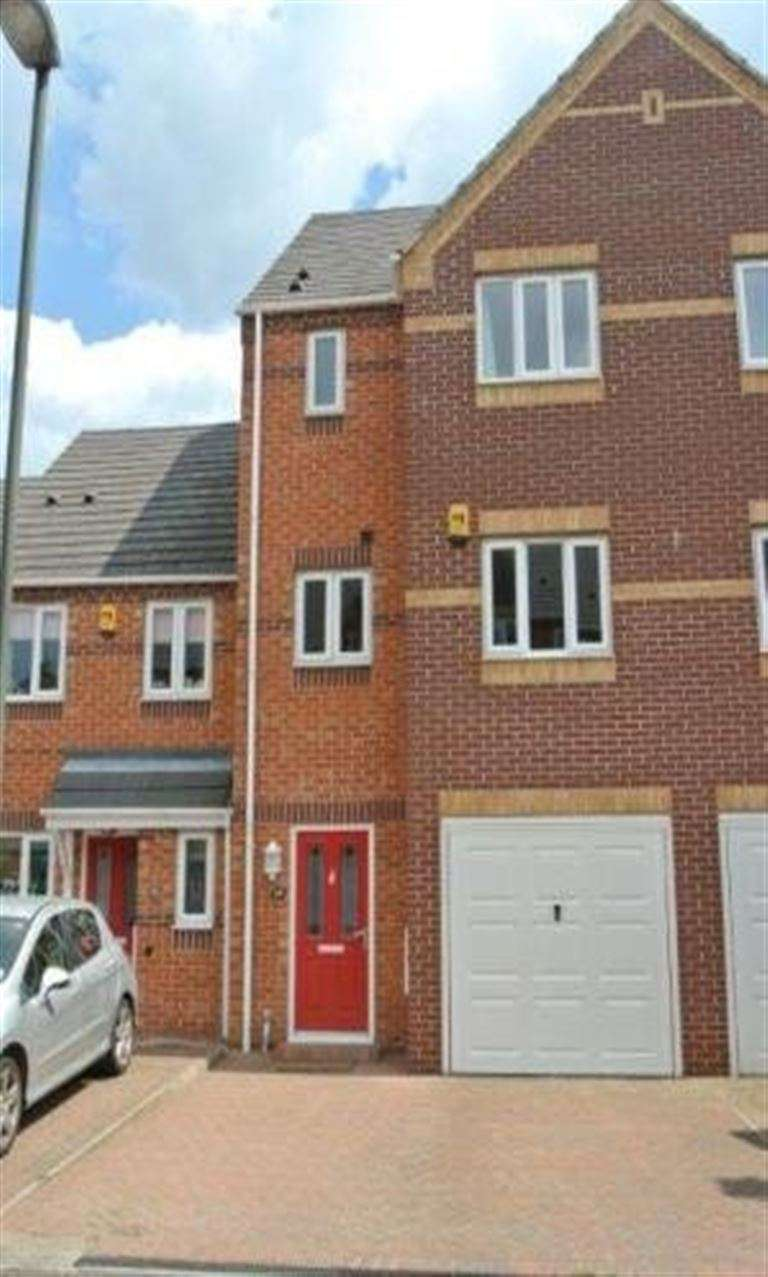 3 Bedrooms Terraced House for rent in Bramble Court, Sandiacre, NG10 5QU