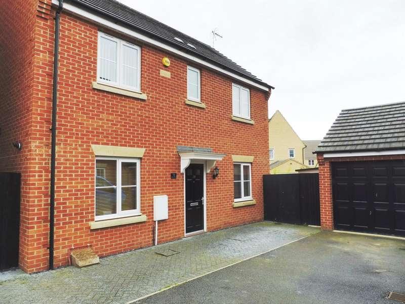 3 Bedrooms Detached House for sale in Juno Way, Peterborough, PE2