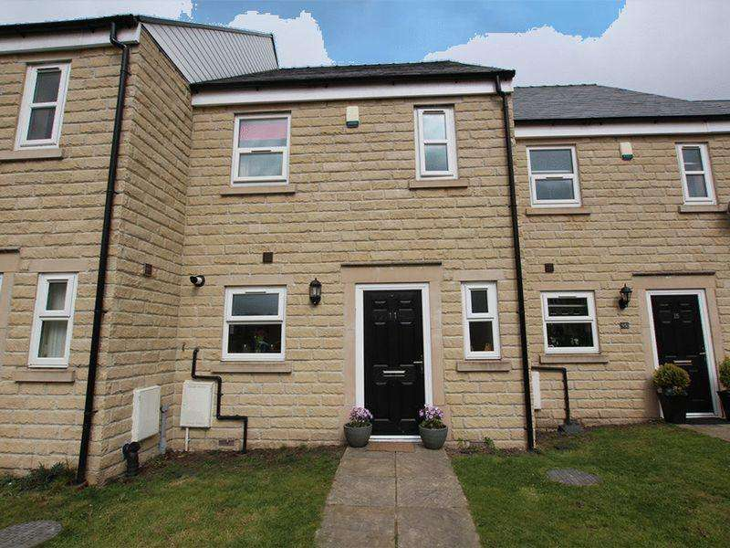 3 Bedrooms Town House for sale in Kandel Court, Whitworth OL12 8RN