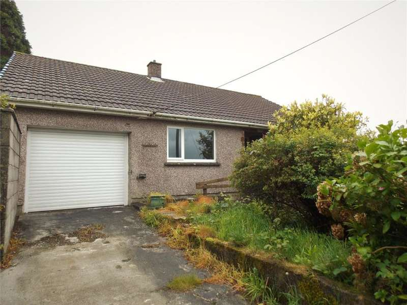 3 Bedrooms Detached Bungalow for sale in Chegwyns Hill, Foxhole, St Austell