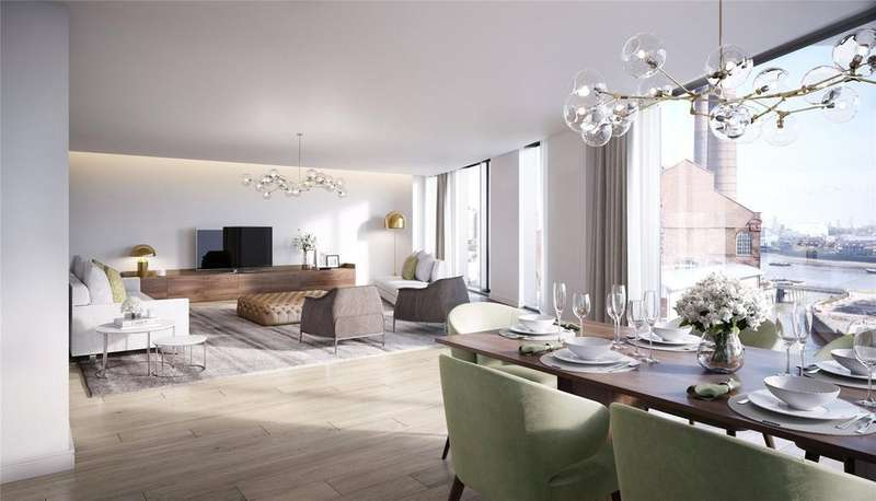 3 Bedrooms Apartment Flat for sale in Chelsea Harbour, Chelsea Island, London, SW10