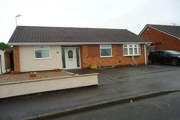 2 Bedrooms Detached Bungalow for sale in Parklands Avenue, Groby, Leicester, LE6