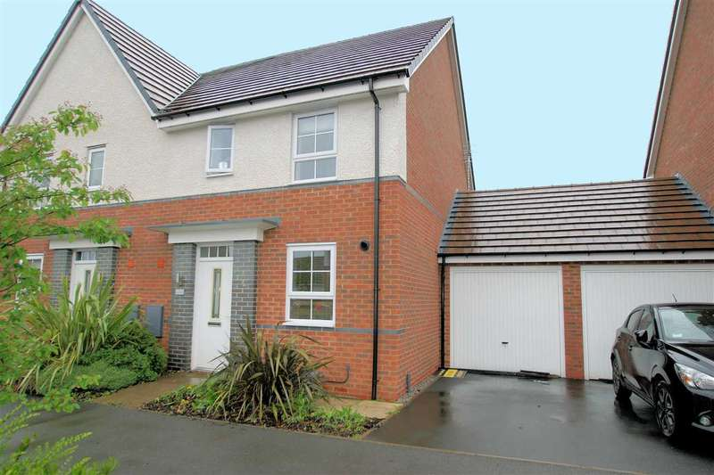 3 Bedrooms Semi Detached House for sale in Pipers View, Stoke on Trent