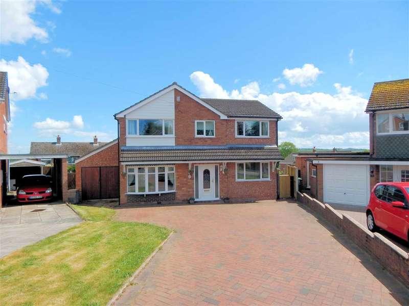 3 Bedrooms Detached House for sale in Cranwood Road, Tittensor, Stoke on Trent