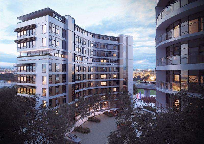 2 Bedrooms Apartment Flat for sale in Herreshoff Apartments, Fortis Quay