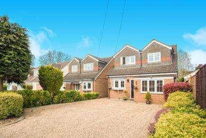 4 Bedrooms Detached House for sale in Oakwood Road, Bricket Wood, St. Albans, Hertfordshire