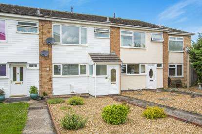 2 Bedrooms Terraced House for sale in Dothans Close, Great Barford, Bedford, Bedfordshire