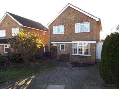 3 Bedrooms Detached House for sale in Hazelwood Close, Luton, Bedfordshire