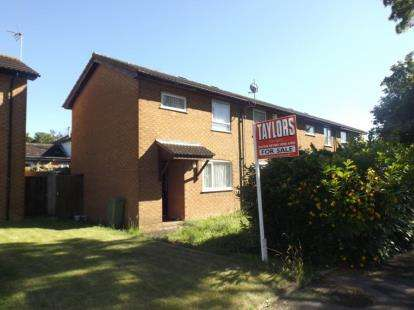 2 Bedrooms Semi Detached House for sale in The Boundary, Oldbrook, Milton Keynes